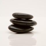 小卵石向禅宗扔石头 免版税图库摄影