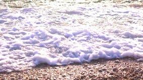 小卵石和沙子等待破坏 股票视频