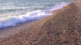 小卵石和沙子等待破坏 影视素材
