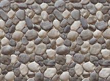 小卵石无缝的模式 库存图片