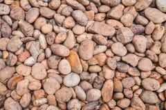 小卵石来回石头 免版税库存照片