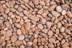 小卵石来回石头 免版税库存图片
