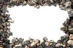 小卵石框架  免版税库存图片