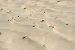 小卵石沙子 免版税库存照片