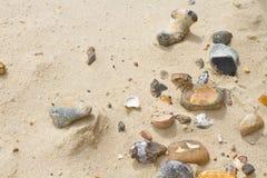 小卵石沙子 图库摄影