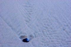 小卵石沙子 免版税图库摄影