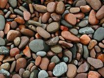 小卵石海滩  库存图片