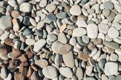 小卵石海滩 免版税图库摄影