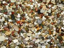 小卵石海滩 免版税库存图片