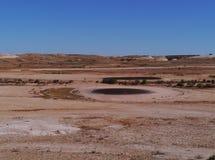小卵石澳大利亚高尔夫球场  免版税库存照片