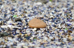 小卵石的细节 库存照片