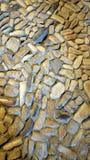 小卵石石地板 免版税库存照片