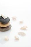 小卵石石头 免版税库存图片