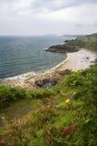 小卵石石海滩。 库存图片