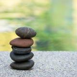 小卵石石头堆 免版税库存图片