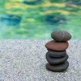 小卵石石头堆 图库摄影