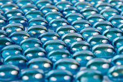 小卵石绿松石 免版税库存照片