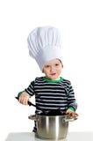 小厨师 库存图片