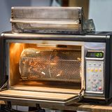 小咖啡烘烤器 库存照片