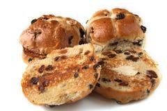 小圆面包交叉热传统 库存图片