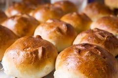 小圆面包交叉热 图库摄影