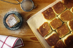 小圆面包传统捷克 免版税库存图片