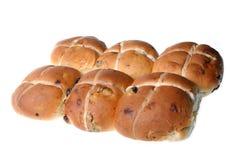 小圆面包克服热 免版税图库摄影