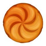 小圆面包圆的大面包担当了膳食陪同传染媒介 皇族释放例证
