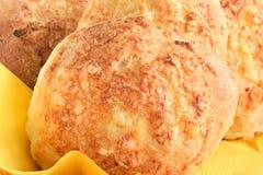 小圆面包干酪 免版税图库摄影