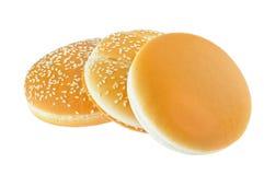小圆面包快餐三 库存图片