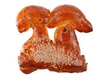 小圆面包新白色 免版税库存图片