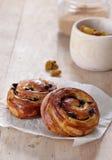 小圆面包新鲜的甜点二 免版税库存照片