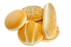 小圆面包构成 图库摄影