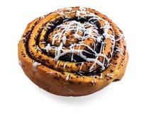 小圆面包查出的甜点 免版税库存照片
