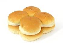 小圆面包汉堡包 免版税库存图片