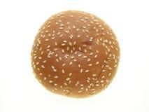 小圆面包汉堡 免版税库存图片