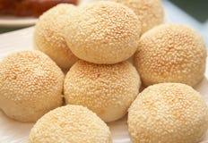 小圆面包汉语 库存照片
