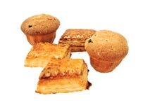 小圆面包甜点 图库摄影