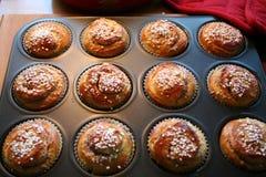 小圆面包用番红花 库存图片