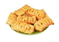 小圆面包用苹果果酱 免版税库存图片