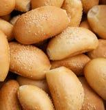 小圆面包种子芝麻 库存图片