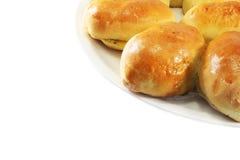 小圆面包自创肉馅饼 免版税库存图片
