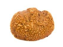 小圆面包芝麻 免版税库存图片
