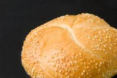 小圆面包芝麻 图库摄影