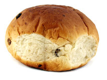 小圆面包葡萄干 库存照片