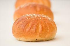 小圆面包酥皮点心 库存图片