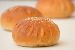 小圆面包酥皮点心 免版税库存照片