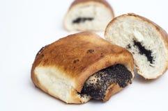 小圆面包食物国家鸦片俄语种子 免版税库存照片