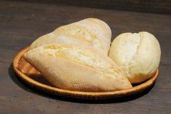 小圆面包,蛋糕,小圆面包的各种各样的类型 免版税库存图片