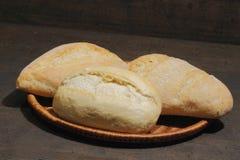 小圆面包,蛋糕,小圆面包的各种各样的类型 免版税库存照片